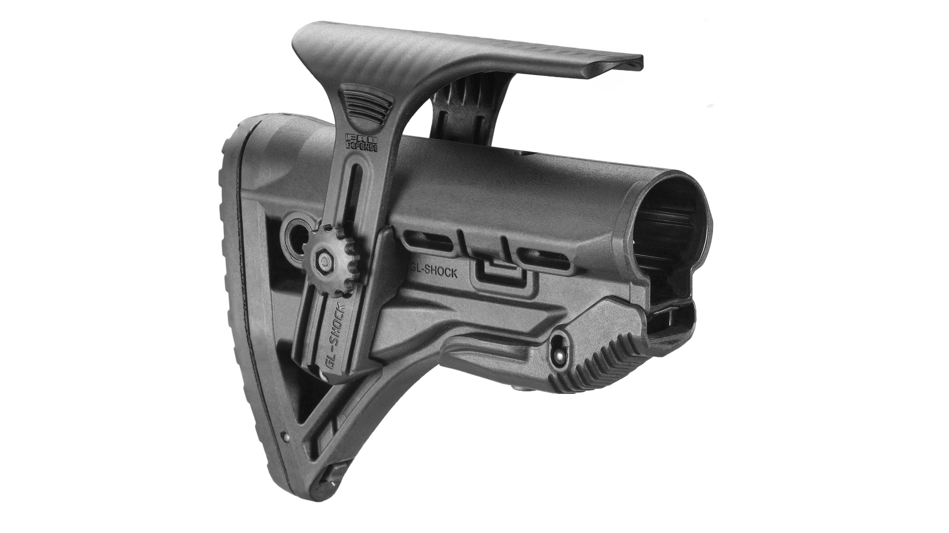 Collapsible Butt Stock for M16/AR15 w/ Adjustable Cheek Piece