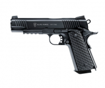 AIRSOFT GUN ELITE FORCE 1911 TAC CAL 6MM 100 BB