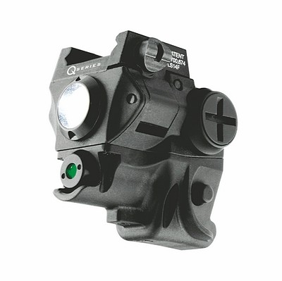 IP6120 Q-SERIES SUBCOMPACT PISTOL GREEN LASER SIGHT + LED LIGHT