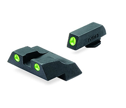 Meprolight – Glock Tru-Dot Night Sight TD fixed G26 & G27 set