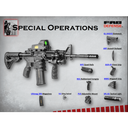 Special Operations Upgrade Kit for M4, M16 & AR15