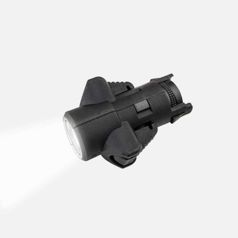 CAA Intergral Front Flashlight