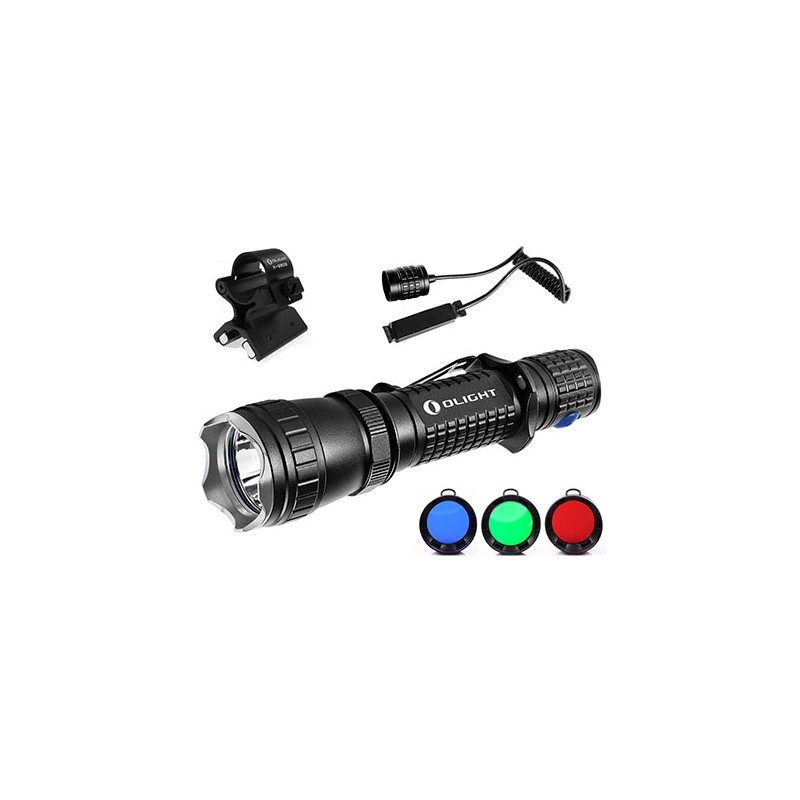 Olight M20SX Javelot Hunting Set, 820 lumen, 370m Throw