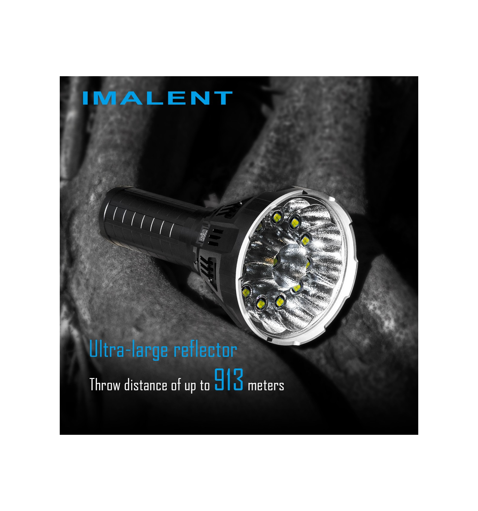 Imalent MS12, 53 000 lumen, 913m Throw